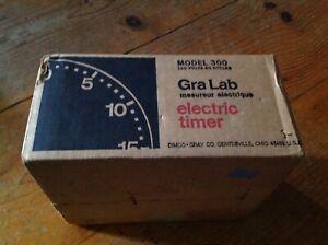 Vintage  Gralab Model 300 Darkroom Timer NEW IN BOX