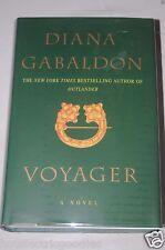 Signed Voyager by Diana Gabaldon Outlander Hardcover book Autographed NEW