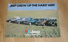 Jeep Brochure CJ7 Golden Eagle - Cherokee Chief - Cherokee 4 Door & S - 1977