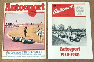 Autosport 28/8/80* 30th ANNIVERSARY ISSUE & COLLECTOR'S SUPPLEMENT- ULSTER RALLY