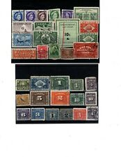 Canada Back Of Book Used Stamps (Item Cb017)