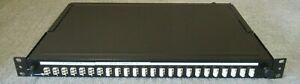 "Brand-Rex 24 Port 1U 19"" LC UPC Multimode Duplex Fibre Optic Patch Panel"