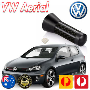 Antenna / Aerial Stubby Bee Sting for VW MK5 MK6 Golf GTI Black Carbon