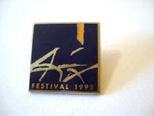 PINS AIX EN PROVENCE FESTIVAL 1992 FRAISSE PARIS