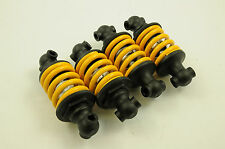 SET OF 4 SUSPENSION SPRING SHOCKS 115mm BUILD OWN PROJECTS GO-KARTS,TRAILERS ETC