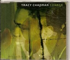 TRACY CHAPMAN Change 2 TRACK PROMO CD With SWEDISH PRESS STICKER