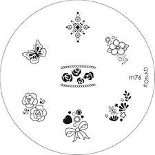 Konad stamping galería de símbolos m76 plate Nails Nail Art Stamp