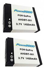 2 Batteries AHDBT-001 AHDBT-002 for GoPro HD HERO2 OUTDOOR MOTORSPORTS HERO