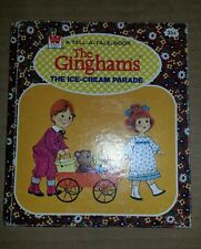 The GINGHAMS Ice Cream Parade 1976 Whiman Tell A Tale Vintage Childrens Book