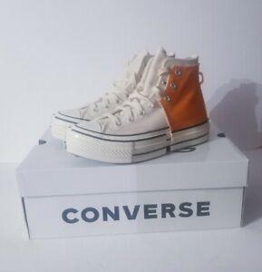 Converse x Feng Chen Wang 2-in-1 Chuck 70 169840C Orange Men's Size 10 Shoes DS
