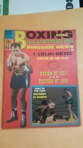 Boxing Illustrated Magazine. March 1968. Carlos Ortiz.