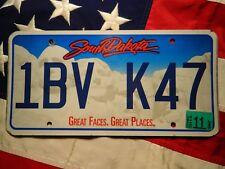SOUTH DAKOTA license licence plate plates USA NUMBER AMERICAN REGISTRATION