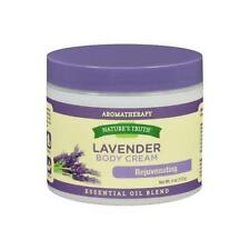 3 Pack Natures Truth Aromatherapy Lavender Rejuvenating Body Cream 4oz Each