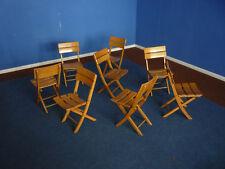 Sehr seltene Herlag Kinderstühle klappbar Folding Chair 1940s 8 verfügbar