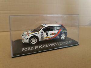 Altaya 1/43 Scale Diecast AL20118 - Ford Focus WRC - Catalunya 2000