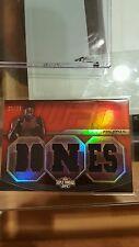 2010 JON JONES TRIPLE THREADS 21/36 TRADING SPORTS UFC CARD