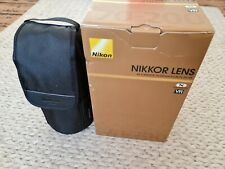Nikon Nikkor AF-S 70-200mm F/2.8 VR E FL ED Lens in Mint Condition