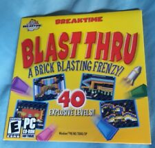 eGames Blast Thru: A Brick Blasting Frenzy (New Sealed PC Game) **Free Shipping