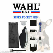 Wahl Animal Horse Pet Dog  clipper trimmer +Bonus T blade trimms whiskers ears