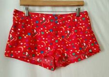 Machine Washable Multi-Colored Shorts for Women