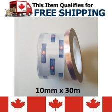 10mm x 30m EMI Electric Conductive Copper Foil Shielding Tape Strip Adhesive