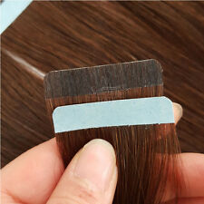 "18"" Dark Brown Remy Tape in Human Hair Extensions Seamless Skin Weft Hair 5 Pcs"