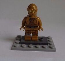 LEGO 75059 C-3PO Minifigure New rare mini figure Star Wars Sandcrawler Exclusive