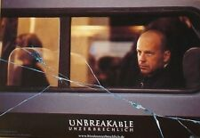 UNBREAKABLE - Lobby Cards Set - Bruce Willis, Samuel L. Jackson