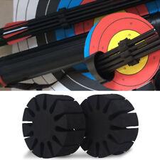 12x Runde EVA Schaum 12 Pfeile Separator Rack Halter Köcher Bogenschießen