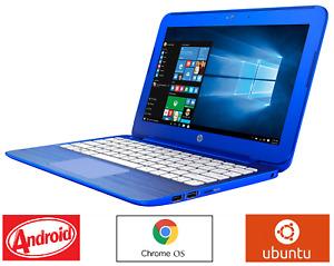 "HP Stream 11 Pro Blue 11.6"" 1.60GHz Ubuntu/Android/ChromeOS, LibreOffice+Office*"