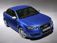 2005 Audi RS4 Sedan, BLUE, Refrigerator Magnet,40 MIL Thick