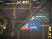 "DORMEUIL ""dorsilk & CASHMERE"" LUSSO jacketing / ingresso siano consone fabric-made in england-2.0 M"