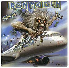 Iron Maiden Flight 666 steel fridge magnet (ro)