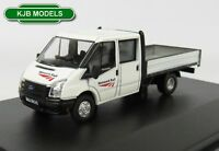 BNIB OO GAUGE OXFORD DIECAST 1:76 76TPU002 FORD TRANSIT DROPSIDE NETWORK RAIL