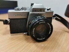 Minolta CLC  SRT100X  Spiegelreflexkamera mit Minolta 50mm 1:2 Objektiv