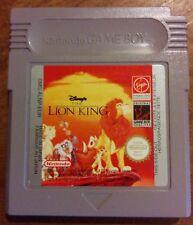 The Lion King (Le Roi Lion) pour Nintendo Gameboy DMG-ALNP-EUR Disney Virgin