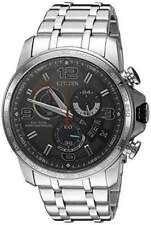Citizen Eco Drive Men's Atomic Chronograph Gray Dial 44mm Watch By0100-51H