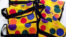 bag mr tumble childs yellow spotty bag for play handmade something special gift
