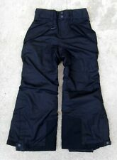 Patagonia h2no Waterproof Ski Snowboard Pants Boy's Sz XS 5 - 6 Black