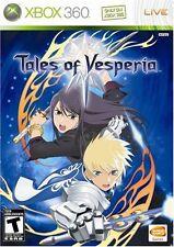 Tales of Vesperia [Xbox 360, NTSC, Platform Exclusive JRPG, Namco Bandai] NEW