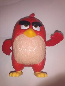 Angry Birds Big Red Bird Figure Plastic Spin Wing Burger King 5 inch Toy