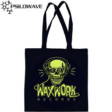 Waxwork Records Black Canvas LP Record Tote Bag New and Sealed