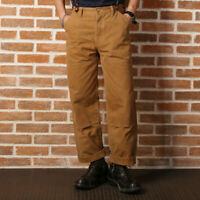 Bronson Double Front Knee Duck Canvas Hunting Trousers Heavy Duty Work Pants