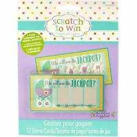Baby Shower Party Games Activities Scratch Cards
