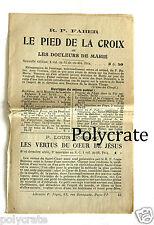 Publicité ancienne ad Librairie P. Téqui Paris livre religieux an. 1930