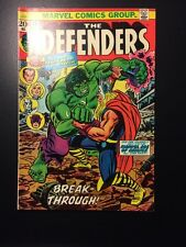 Defenders #10 Hulk vs Thor Huge Key Issue (1972) Classic Battle! High Grade!
