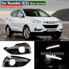 LED Daytime Running Light For Hyundai IX35 Tucson DRL Fog 2009 2010 2011 2012