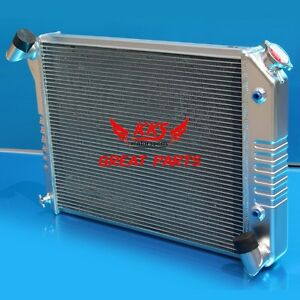 KKS 1966-1968 Chevy Corvette 3 Row Aluminum Radiator