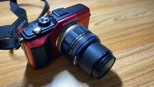 Olympus PEN E-PL2 12.3MP Mirrorless Camera - Red (with Lens)