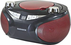 Magnavox MD6949 Portable CD Boombox with AM/FM Stereo Radio Bluetooth CD-R/ RW